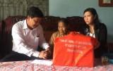 Đoàn lãnh đạo tỉnh thăm và tặng quà gia đình chính sách, người có công với cách mạng