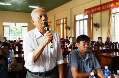 Cử tri phường Bình Chuẩn (Thị xã Thuận An): Kiến nghị nhiều vấn đề bức xúc về an sinh
