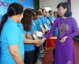 Công đoàn ngành dệt may tỉnh: Tổ chức họp mặt, hội thi cán bộ Công đoàn giỏi