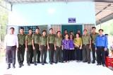 Đoàn thanh niên công an tỉnh: Trao tặng nhà đồng đội