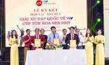 12 đội tham dự giải xe đạp quốc tế VTV - cúp Tôn Hoa Sen lần 2- 2017