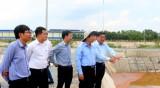Đoàn công tác lãnh đạo tỉnh khảo sát kênh Ba Bò