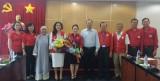 Tỉnh ủy gặp gỡ đoàn Đại biểu Hội Chữ thập đỏ tỉnh tham dự Đại hội đại biểu Hội Chữ thập đỏ Việt Nam lần thứ X