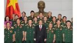 越南政府总理阮春福会见长山-胡志明小道传统协会代表团