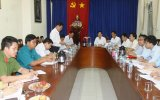 Đoàn kiểm tra của Tỉnh ủy làm việc tại phường Lái Thiêu