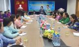 Hội Liên hiệp Phụ nữ tỉnh tiếp đoàn học viên Phụ nữ Campuchia vì hòa bình và phát triển
