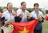 2017年东南亚运动会:越南射箭队夺得第二枚银牌