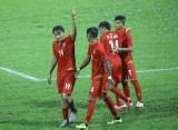 U22 Myanmar giành vé vào bán kết sau màn vùi dập U22 Brunei