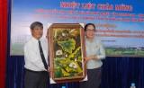 Provincial FFC welcomes delegation of Champasak