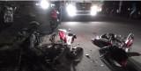 Tai nạn xe máy trong đêm, 4 người nhập viện