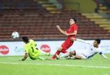 第29届东南亚运动会男足比赛:越南U22男足队4-0 拿下菲律宾U22男足队,名列B组第一
