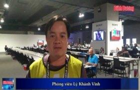 Náo nhiệt Trung tâm báo chí SEA Games 29