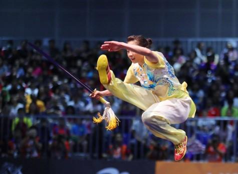 SEA Games 29: Phương Giang đoạt HCV thứ 2 cho TTVN