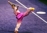杨翠微夺得第二枚金牌