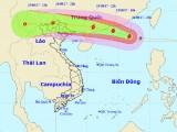 Bão số 6 gây gió mạnh trên biển, mưa lớn ở đất liền Bắc bộ