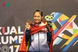 Giành HCV ở lần đầu dự SEA Games, nữ võ sĩ Việt Nam ngán... trọng tài