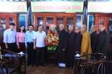 Thăm, chúc mừng Giáo hội Phật giáo nhân lễ Vu lan