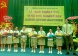 Trường Trung - Tiểu học PéTrus Ký: Giữ vững danh hiệu trường đạt chuẩn quốc gia, tập thể lao động xuất sắc