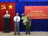 Công bố quyết định chờ nghỉ hưu, hưởng chế độ đối với Phó giám đốc Cảnh sát PC&CC tỉnh Bình Dương