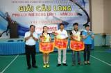 Giải cầu lông phường Phú Lợi (TP.Thủ Dầu Một) mở rộng lần I năm 2017