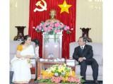 Lãnh đạo tỉnh tiếp Tổng lãnh sự Ấn Độ