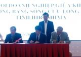 日本企业为越南九龙江三角洲解决环境问题分享有关技术的经验