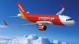 9月14日越捷航空公司一些航班受第10号台风的影响