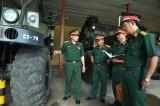 Bộ Tư lệnh Công binh kiểm tra chuyên ngành tại Lữ đoàn công binh 550
