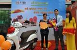 SHB Bình Dương: Trao thưởng xe máy Honda Lead cho khách hàng may mắn