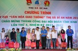 Animated activities in celebration of 10th provincial Youth Union congress's success