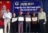 Ấp Tân Long, xã Bạch Đằng, thị xã Tân Uyên: Họp mặt kỷ niệm Ngày Quốc tế Người cao tuổi