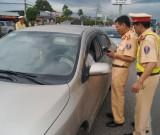 Cảnh sát giao thông Công an tỉnh: Tăng cường xử lý vi phạm nồng độ cồn khi lái xe