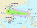 Áp thấp nhiệt đới đi vào Biển Đông và tiếp tục mạnh thêm