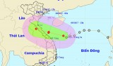 Áp thấp cách Hà Tĩnh-Quảng Trị 410km, có thể thành bão