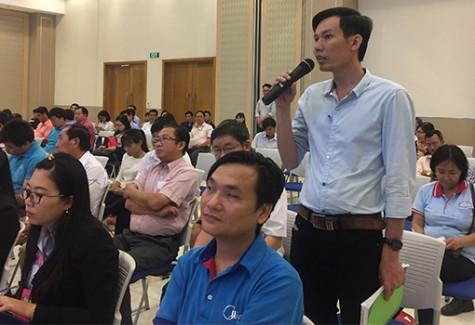 Lãnh đạo tỉnh gặp gỡ, đối thoại với cán bộ công đoàn cơ sở: Thẳng thắn, cởi mở