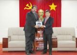 Lãnh đạo tỉnh tiếp tân Tổng Lãnh sự Hà Lan tại TP.Hồ Chí Minh