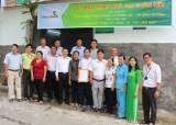 Vietcombank Bình Dương trao tặng nhà đại đoàn kết cho hộ nghèo