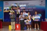 Cua rơ Lê Văn Quỳnh - CLB Gấu Vàng chiến thắng