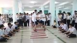 Exchange between Binh Duong and Japanese students