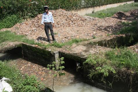 Đường Chòm Sao (phường Hưng Định, TX.Thuận An): Bao giờ hết ngập?