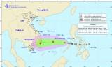 Áp thấp nhiệt đới trên Biển Đông có thể mạnh lên thành bão