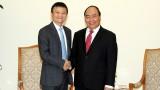越南政府总理阮春福会见阿里巴巴集团总裁马云