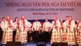 Văn hóa nghệ thuật Nga trong trái tim người Bình Dương