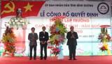 Lễ công bố quyết định thành lập trường Cao đẳng Việt Nam - Hàn Quốc Bình Dương