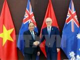 Thủ tướng Nguyễn Xuân Phúc hội đàm với Thủ tướng Australia