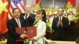 Doanh nghiệp Việt - Mỹ ký hàng loạt thoả thuận tỷ USD