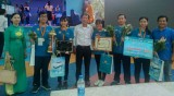 Đội Bình Dương đoạt giải nhất