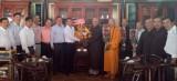 Lãnh đạo tỉnh chúc đoàn đại biểu Phật giáo tỉnh dự Đại hội đại biểu Phật giáo toàn quốc lần VIII thành công tốt đẹp