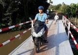 Cầu Ván đã được nâng cấp