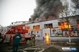 'Khu chợ Việt' ở Orenburg bốc cháy, nhiều tiểu thương trắng tay